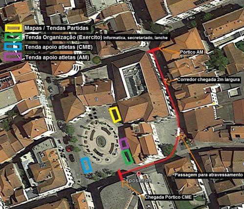 Esposende City Race - Localização