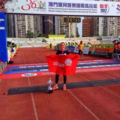 Amigos da Montanha - Doroteia Peixoto vence Meia Maratona de Macau