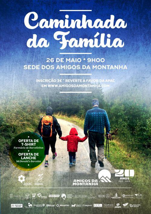 Amigos da Montanha - Caminhada da Família